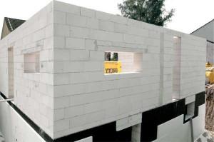 строительства домов из пеноблоков