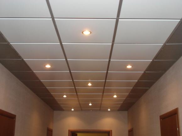 Потолки подвесного типа