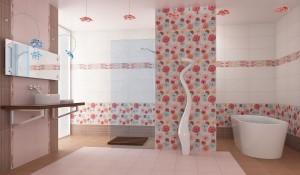 Кафельная плитка в дизайне помещений